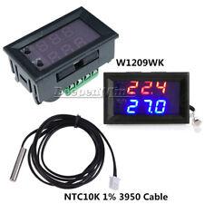 DC12V W1209WK Digital thermostat Temperature Control Sensor NTC10K 1% 3950 Cable