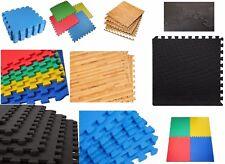 Interlocking Eva Mats Gym Exercise Office Garage Kids Play Floor Foam Tiles Mat