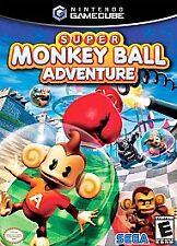 Super Monkey Ball Adventure (Nintendo GameCube, 2006) DISC IS MINT