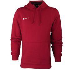 Nike Club Crew Team Hoody Herren Kapuzenshirt rot Sweatshirt Hoodie NEU