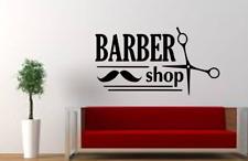 Barber Shop Vinyl Wall Door Art Decal Removable Sticker
