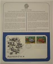 1st  Day Issue  Aquarium Fish 1999 Stamps