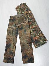 ORIGINALE Bundeswehr Pantaloni CAMPO, BW esercito tedesco, Mimetico, come nuovo,