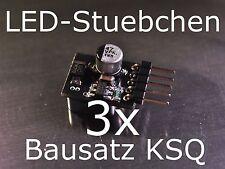 3x Bausatz LED Konstantstromquelle, LED, Step-down, KSQ