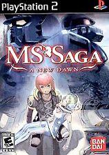 MS Saga: A New Dawn (Sony PlayStation 2, 2006)   COMPLETE