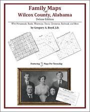 Family Maps Wilcox County Alabama Genealogy AL Plat