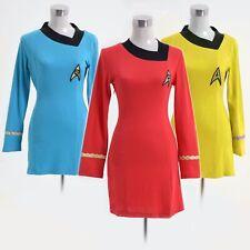 Star Trek Dress Costume Female Duty Uniform Women Fancy Dress Halloween
