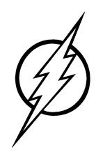 Vinyl Decal Truck Car Sticker Laptop Window  - DC Justice League The Flash Logo
