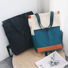 Vintage Girls Shoulder Backpack Women Waterproof Large Capacity Travel Lapt H5O2