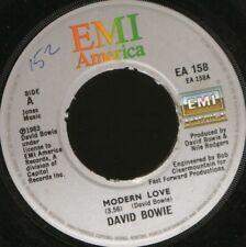 "DAVID BOWIE modern love 7"" WS EX/ uk EA 158 wol noc"