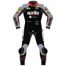 APRILIA MEN 2018  Motorbike Leather Suit Motorcycle Leather Suit Racing suit
