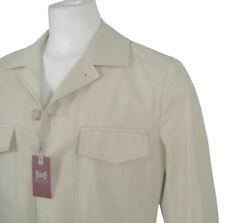 NEW $495 Hickey Freeman Jacket!   *Safari Type Sporty Style*   *Light Tan*
