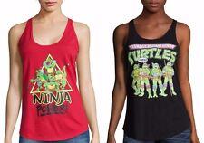 TMNT Teenage Mutant Ninja Turtles Tank T-Shirt - Juniors XS S L XL - New w/Tags!