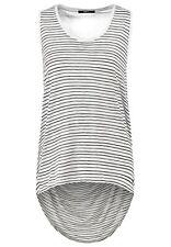 tigha SENNA TOP T-SHIRT nere bianche shirts NERO BIANCO