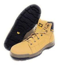 Mens Caterpillar Cat Dimen Hi P90004 WIDE Honey Steel Toe Work Boots Shoes