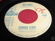 GORDON TERRY - WILD HONEY - LIBERTY 55500 EARLY ROCK 45
