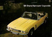 Jensen Interceptor Convertible Series III 1974 UK Market Leaflet Sales Brochure