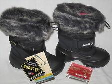 KAMIK Winterstiefel Stiefel  Schneestiefel schwarz  Gore-Tex wasserdicht warm