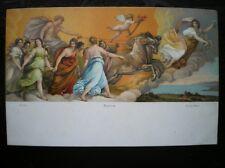 POSTCARD AURORA GUIDO RENI ROMA ARTIST SIGNED