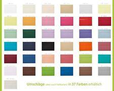 250 Briefumschläge DIN B6 (125 x 176 mm) Haftstreifen 120 g/qm Farbe nach Wahl