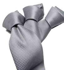 CRAVATTA grigio CHIARO SETA  ITALY cerimonia CRAVATTE GRIGIE per uomo elegante