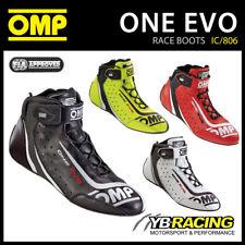 ! nuevo! IC/806 OMP uno Zapatos Botas de Carreras Ligero Evo FIA Aprobado OMP Nuevo Modelo