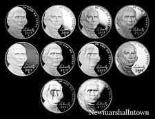2006 2007 2008 2009 2010 2011 2012 2013 2014 2015 S Jefferson Mint Proof Set