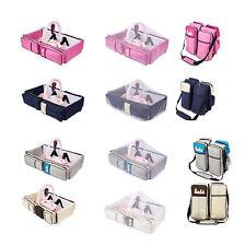 2 in 1 Wickeltasche Pflegetasche Babytasche Reise Babybett Moskitonetz
