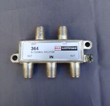 (1-50 PCS) 4-Way 5-1000 Mhz Cable TV/Antenna Splitter
