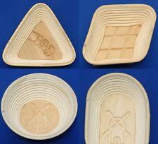 Premiumqualität Brotformen mit Gravur Gärkörb Brotkorb Brotform Peddigrohrform