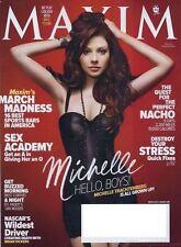 Maxim Magazine March 2011 MICHELLE TRACHTENBERG March Madness BRIAN VICKERS