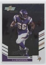 2007 Score Select #68 EJ Henderson Minnesota Vikings E.J. Football Card