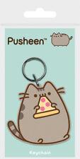 Pusheen Keychain Keyring Pizza Kawaii Cat Kitten Unicorn Magic Japanese Kids