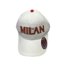 Cappello uomo Baseball A.C. Milan calcio Cappellino con visiera *02774