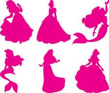 Window Wall Vehicle Display Fairy Princess Decal vinyl sticker Multi Sheet