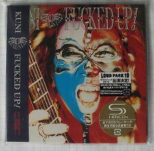 KUNI - Fucked Up! JAPAN SHM MINI LP CD OBI NEU! UICY-94693