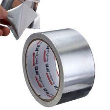 5cm*17m Aluminium Foil Adhesive Sealing Tape Thermal Resist Duct Repairs tool MO