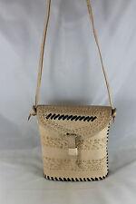 Gorgeous African Handmade-Camel Leather Ladies Shoulder Handbag 16 FREE POSTAGE