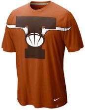 Nike Texas Longhorns Elite Aerographic Logo shirt basketball football men's