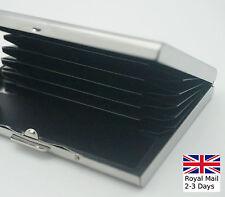De Aluminio de negocios de identificación de tarjeta de crédito Portátil titular Funda Caja Mini Wallet