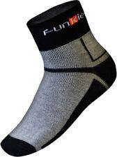 NEW Warm Winter Cycling Socks - Bike Socks - Funkier - Grey and Black
