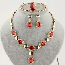 set parure classico COLLANA bracciale Orecchini anello - bigiotteria da donna