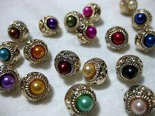 10 hübsche Knöpfe, verschiedene Farben,Farbe wählbar,ca.10mm , K120