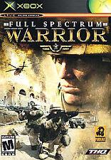 Full Spectrum Warrior - Pandemic THQ - Microsoft Xbox - NEW & SEALED!
