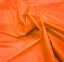 Orange Nylon Fabric 5oz Waterproof Material Tent Camp Gaiters Seat Outdoor Cover