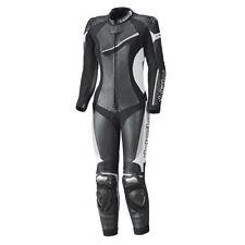Held Ayana II Negro/Blanco Motocicleta de una sola pieza mujer traje de cuero