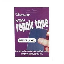 KENYON RIP-STOP REPAIR TAPE - 75MM X 4.57M - MULTIPLE COLOURS