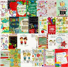 Thank You Teacher / Childminder / Classroom / Nursery / Assistant Card - Various