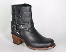 9569 Sendra botines estrella negra rahmengenähte zapatos botas de motorista
