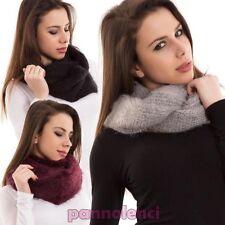 bufanda de mujer cuello piel sintética braga banda accesorios nueva AC-01